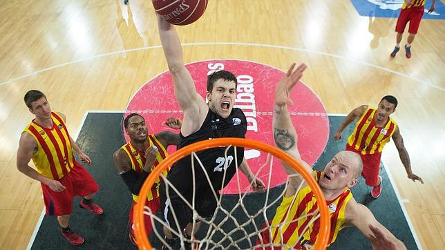 canasta todorovic Bilbao Basket KGT Makusi