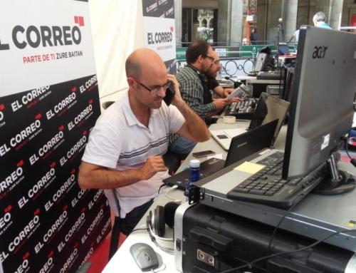 EN LA FINAL DE COPA CON EL CORREO TV