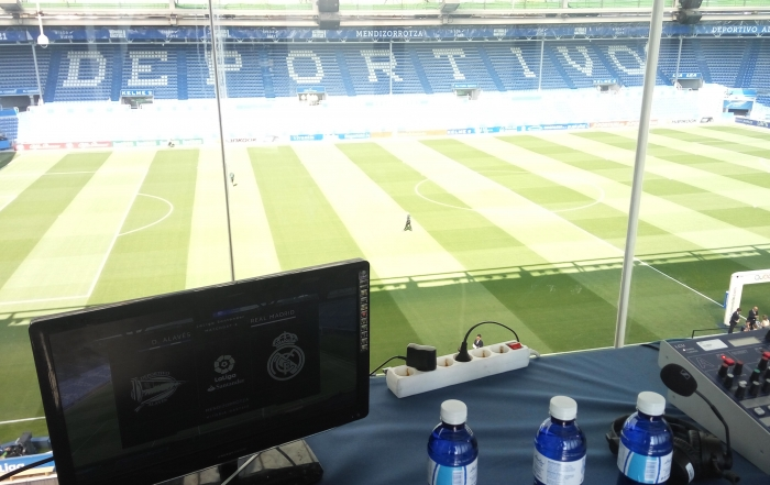 KGT Makusi en la retransmisión de la Liga Santander
