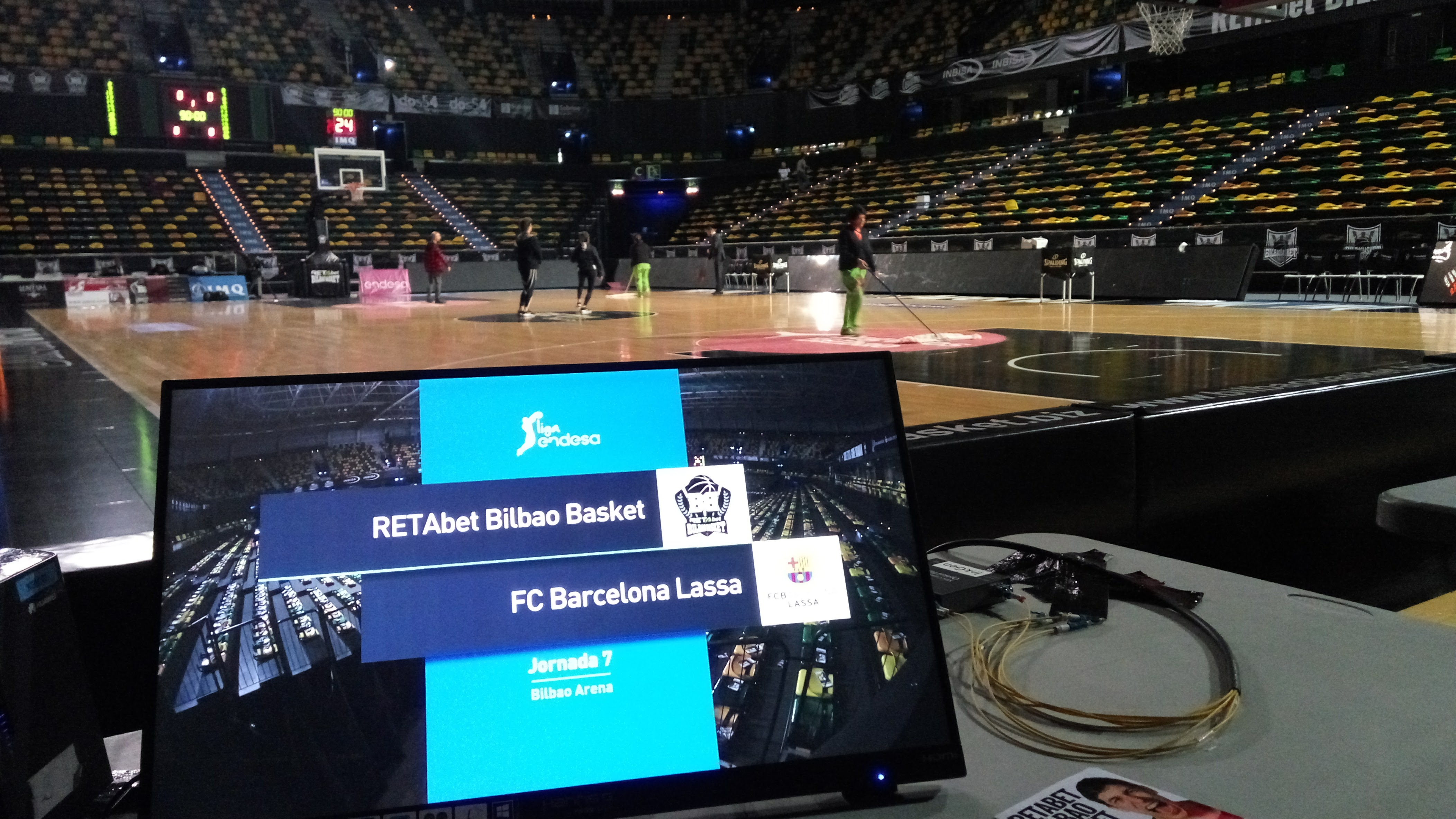 Bilbao Basket - Barcelona ACB